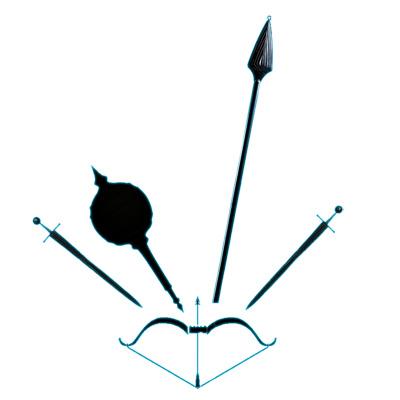 pandavaweapons