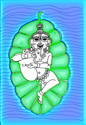 krishnabananaleaf