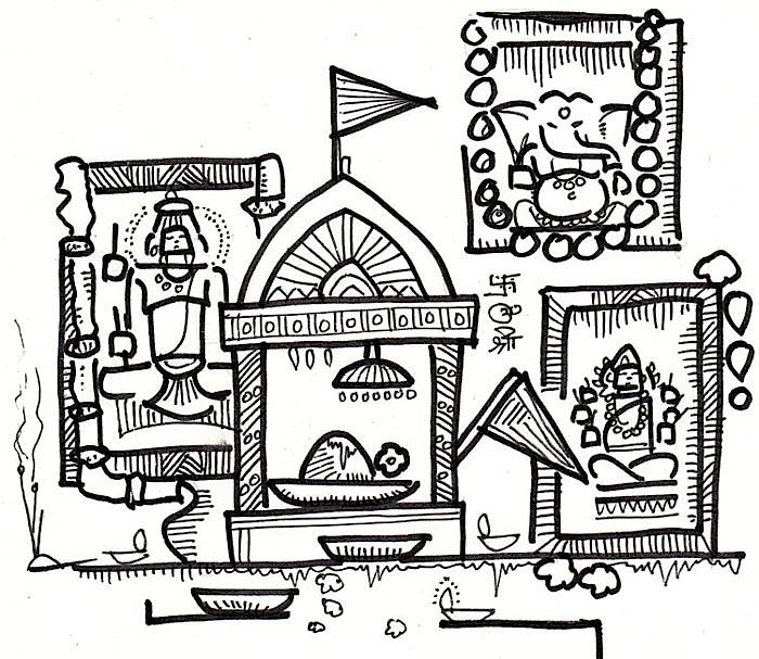 Puja Room - Devdutt