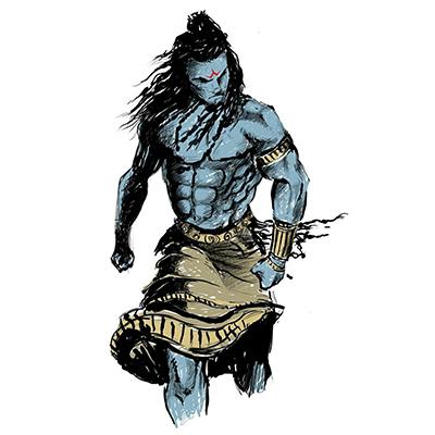 Hindu gods like Rama & Shiva have six packs now to kill bad